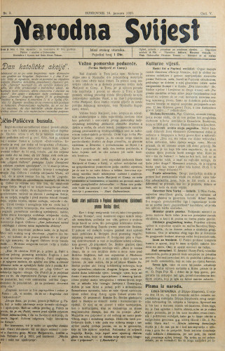 Narodna svijest, 1923/3