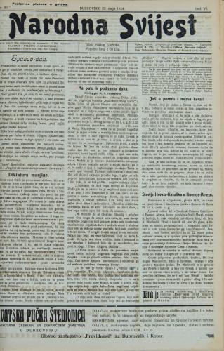 Narodna svijest, 1924/23