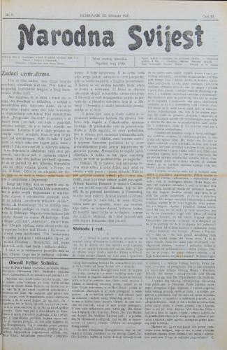 Narodna svijest, 1921/8