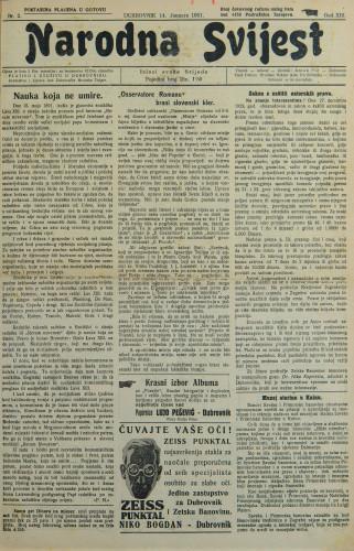 Narodna svijest, 1931/2