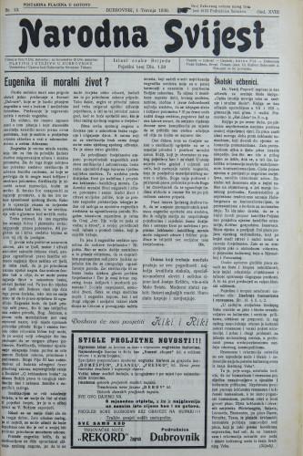 Narodna svijest, 1936/13