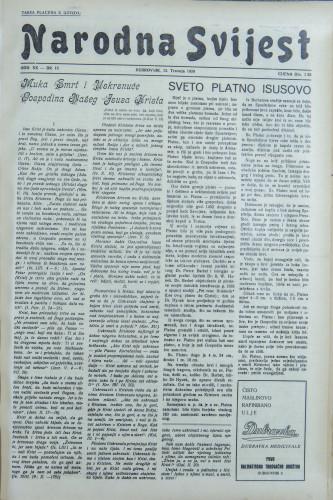 Narodna svijest, 1938/15