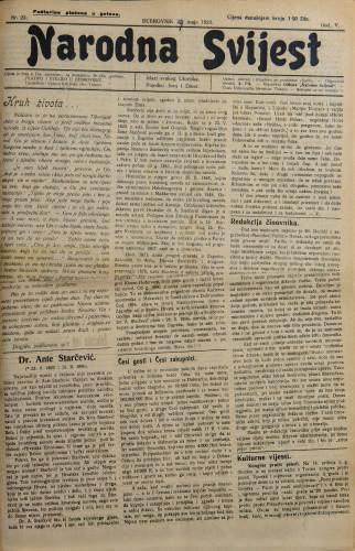 Narodna svijest, 1923/23