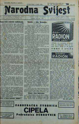 Narodna svijest, 1930/9