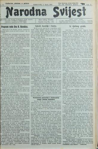 Narodna svijest, 1928/10