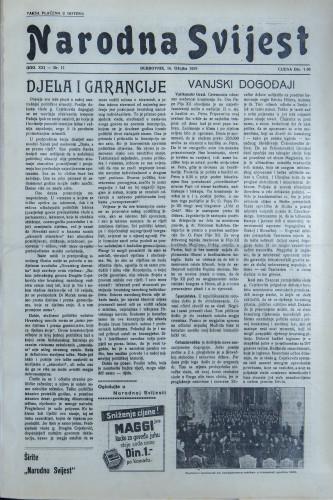 Narodna svijest, 1939/11