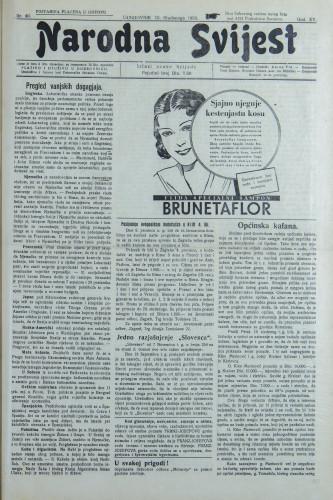 Narodna svijest, 1933/46