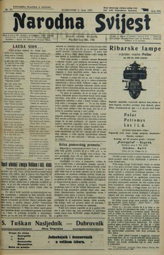 Narodna svijest, 1931/23