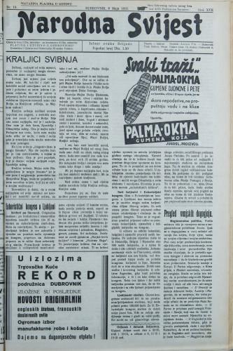 Narodna svijest, 1935/18