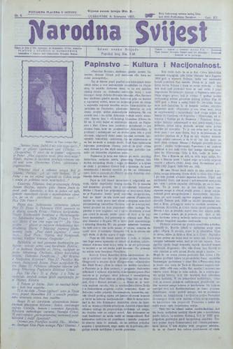 Narodna svijest, 1933/6