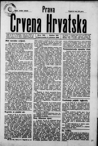 Prava Crvena Hrvatska/703