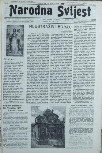 Narodna svijest, 1935/4