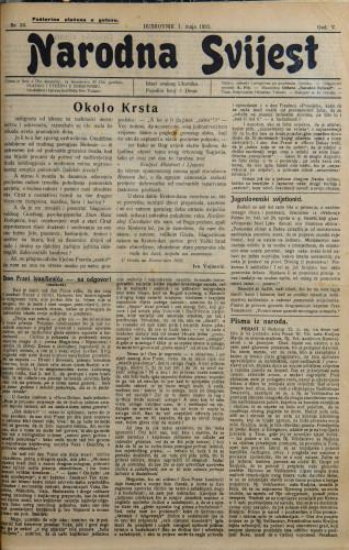 Narodna svijest, 1923/20
