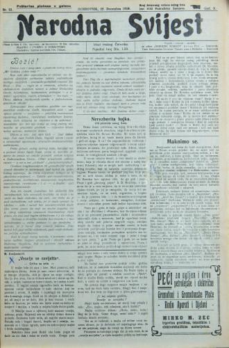 Narodna svijest, 1928/51