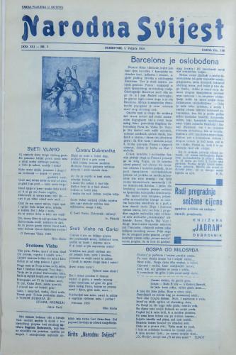 Narodna svijest, 1939/5