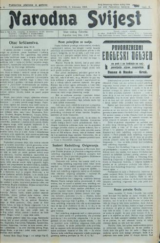 Narodna svijest, 1928/6