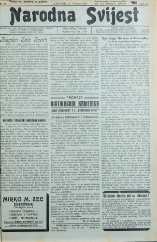 Narodna svijest, 1928/44