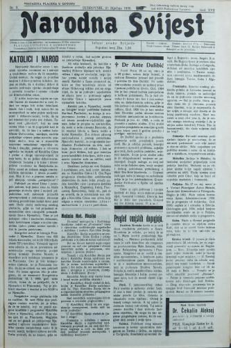 Narodna svijest, 1935/3